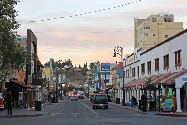 Avenida Obregon - Nogales, Mexico