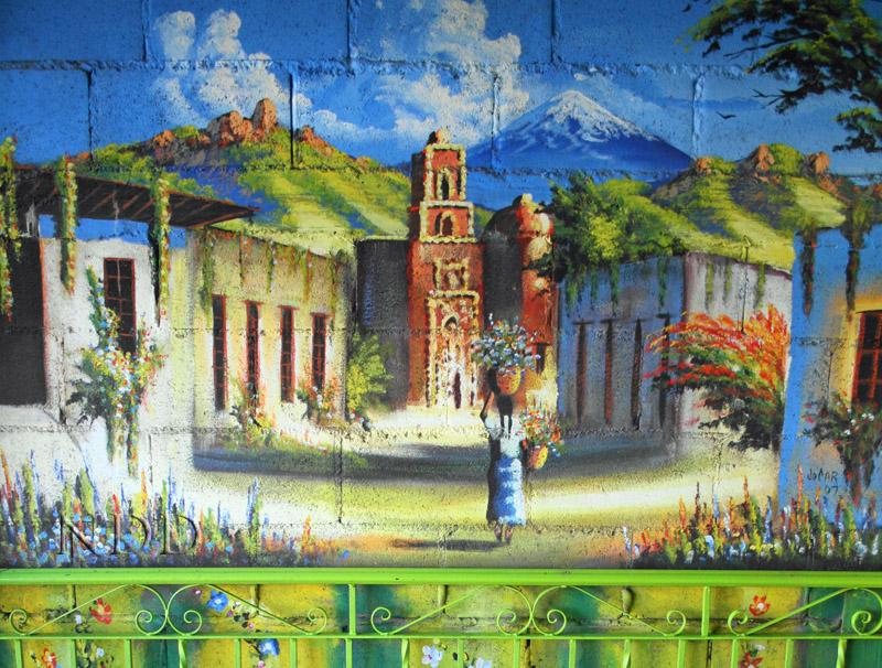 nogales restaurant mural